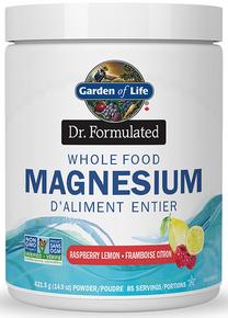 Dr Formulated Whole Food Magnesium Raspberry Lemon 421.5g