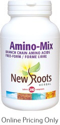 New Roots Amino Mix 850mg 240tabs