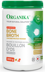 Organika Chicken Bone Broth Protein Powder With Turmeric 300g
