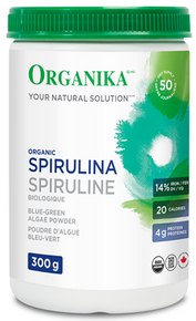 Organika Spirulina Powder 300g