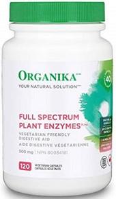 Organika Full Spectrum Plant Enzyme 120caps