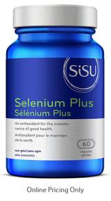 Sisu Selenium Plus 200mcg 60caps