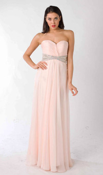 Style E322 Bridesmaids Romantic Chiffon Dress Image View 1