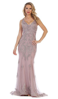 Style RC575 - RED CARPET COUTURE DRESS IMAGE 4