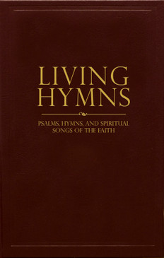 Living Hymns Burgundy