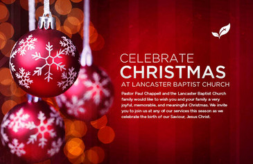 Celebrate Christmas Ornament Postcard