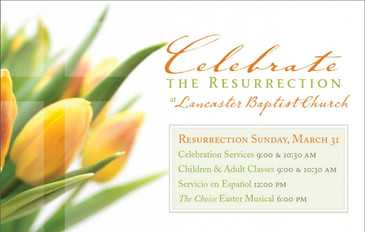 Celebrate the Resurrection 3.5x5.5