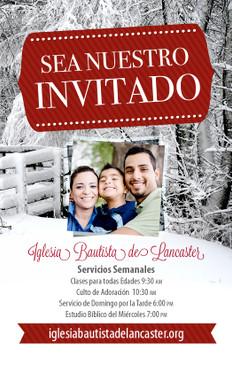 Sea Nuestro Invitado Invierno 3.5x5.5