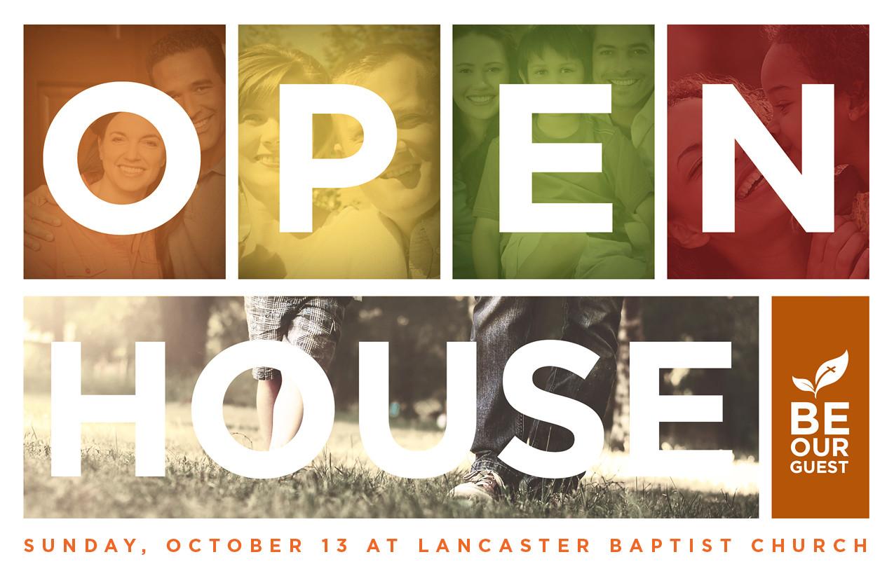 Open House Block Postcard - Striving Together Publications
