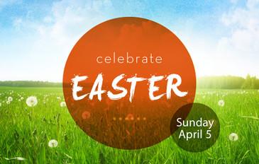 Celebrate Easter Orange 3.5x5.5