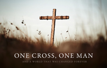 One Cross, One Man 3.5x5.5