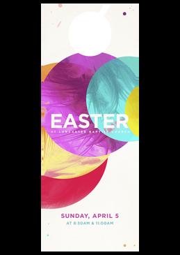 Easter Circles 4x11
