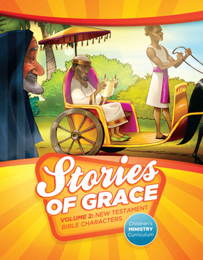 Stories of Grace: New Testament Bible Characters—Teacher Edition