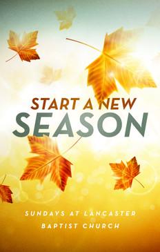 Start a New Season 3.5x5.5