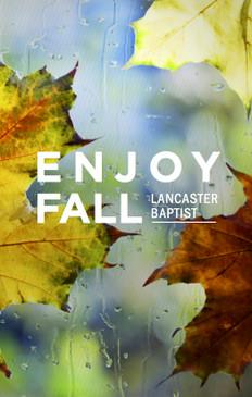 Enjoy Fall 3.5x5.5