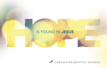 Hope is Found in Jesus 3.5x5.5