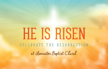 He Is Risen 3.5x5.5