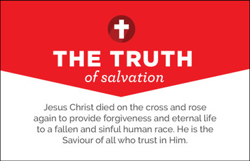The Truth of Salvation Cards