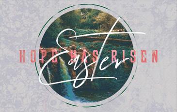 Easter: Hope Has Risen 3.5x5.5