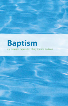 Baptism Brochure Bifold (English)—Pack of 100