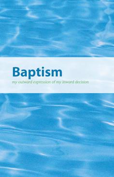 Baptism Brochure Bifold (English)—Pack of 100