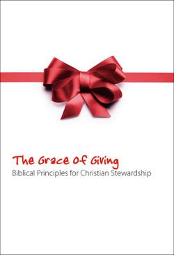 Stewardship Bulletin Insert - The Grace of Giving (Pack of 100)