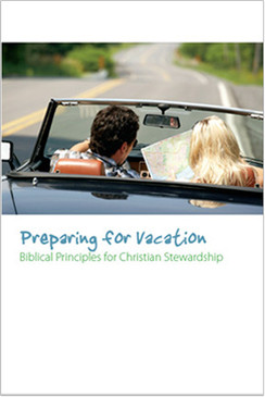 Stewardship Bulletin Inserts - Preparing for Vacation (Pack of 100)
