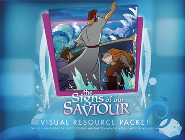The Signs of Our Saviour Visual Aid Pack