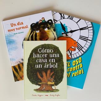 ¡Tres libros, tres aventuras! Bundle (ages 6-8)