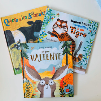 ¡Tres libros, tres aventuras! Animales Bundle (ages 6-8)