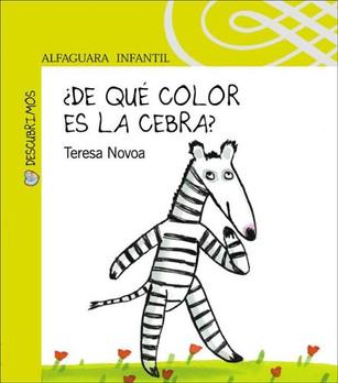 ¿De qué color es la cebra?