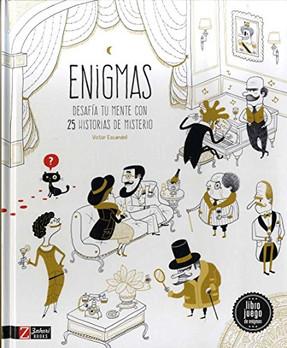 Enigmas. Desafía tu mente con 25 historias de misterio