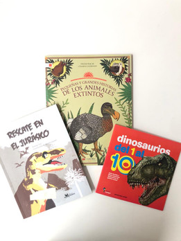 Prehistoric Creatures Bundle (ages 8-12)