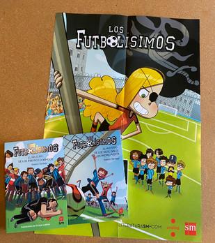 Los Futbolísimos Bundle - Books 3 & 4 (includes FREE poster!)