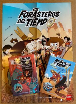 Los forasteros del tiempo Books 3 & 4 Bundle (Includes FREE Poster)