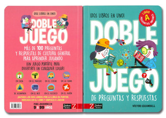 ¡Dos libros en uno! Doble Juego de preguntas y respuestas