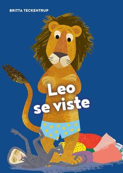 Leo se viste (Board Book)