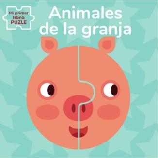 Animales de la granja. Mi primer libro puzle
