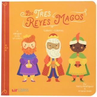 Los tres reyes magos. Colores/Colors (bilingual)