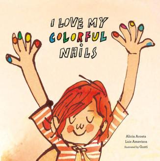 I Love My Colorful Nails (English)