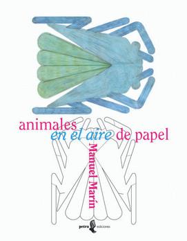 Animales en el aire de papel