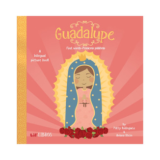 Inspired by the story of Our Lady Of Guadalupe, this little libros will introduce your little one to his first words in English and Spanish!Ê