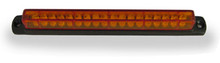 "6"" Amber LED Light Bar with Black Casing and Amber Lens"