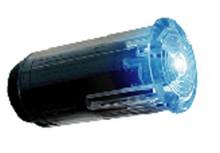 """Small Blue LED Indicator (½"""")"""