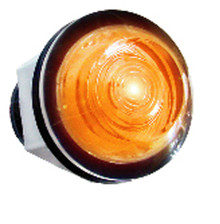 "Large Amber LED Indicator (1"")"
