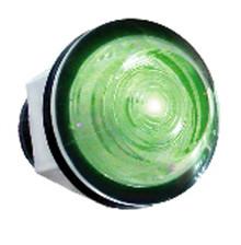"""Large Green LED Indicator (1"""")"""