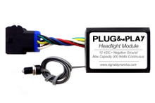 Plug & Play™ Headlight Module + EUROPEAN Dual H7 Harness Adapter