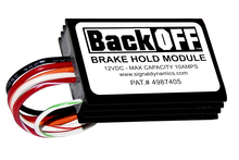 BackOFF™ Brake Hold Module