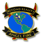 Angel Fire Globe Ski Resort Pin