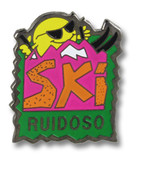Ruidoso Sun Ski Resort Pin